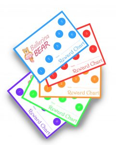 Ballerina Bear Reward Charts