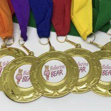 Ballerina Bear Medals