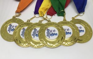 Hip Hop Hippo Medals